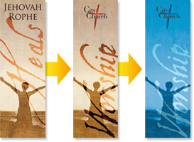 custom church banners