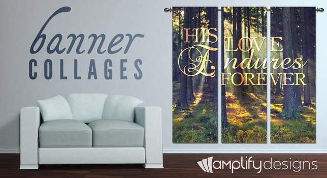 banner collages