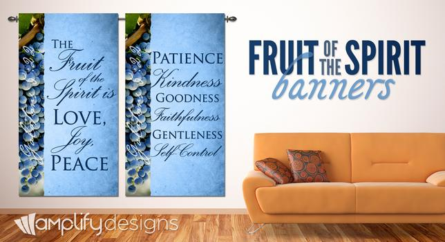 fruit of the spirit banners
