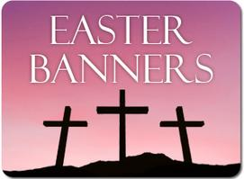 Easter Banners for Churches